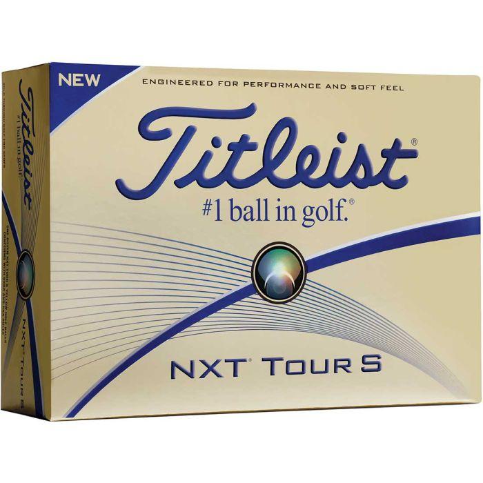 Titleist Prior Generation NXT Tour S Golf Balls