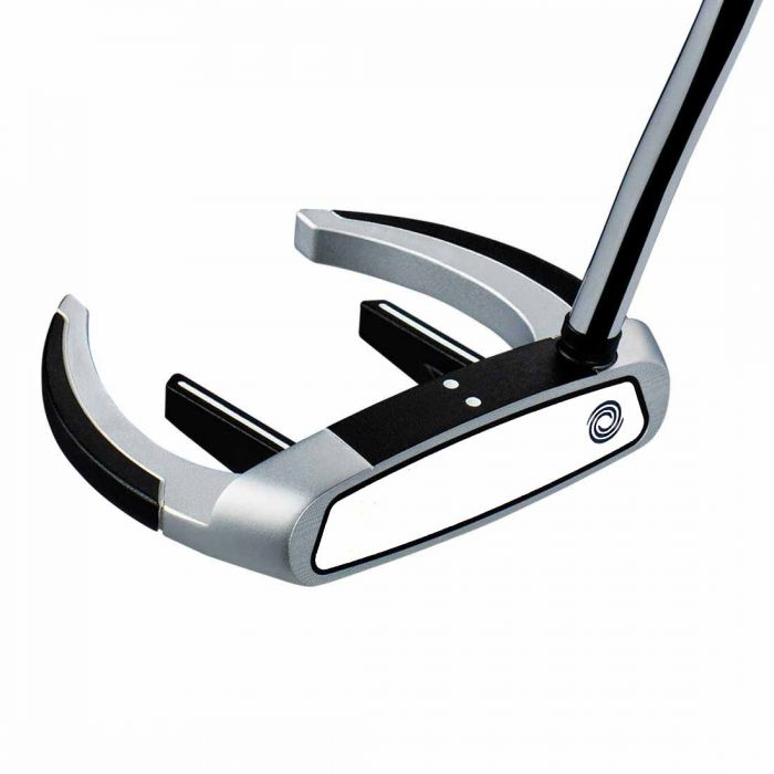Odyssey Works Versa Sabertooth Tank Superstroke Putter w/ White Hot Face