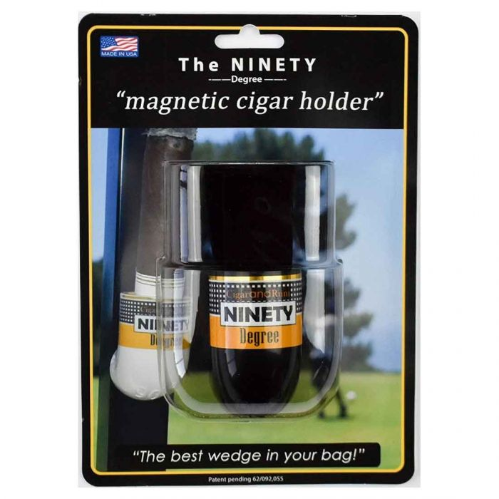 Pro Active Sports The Ninety Degree Wedge Cigar Holder Black