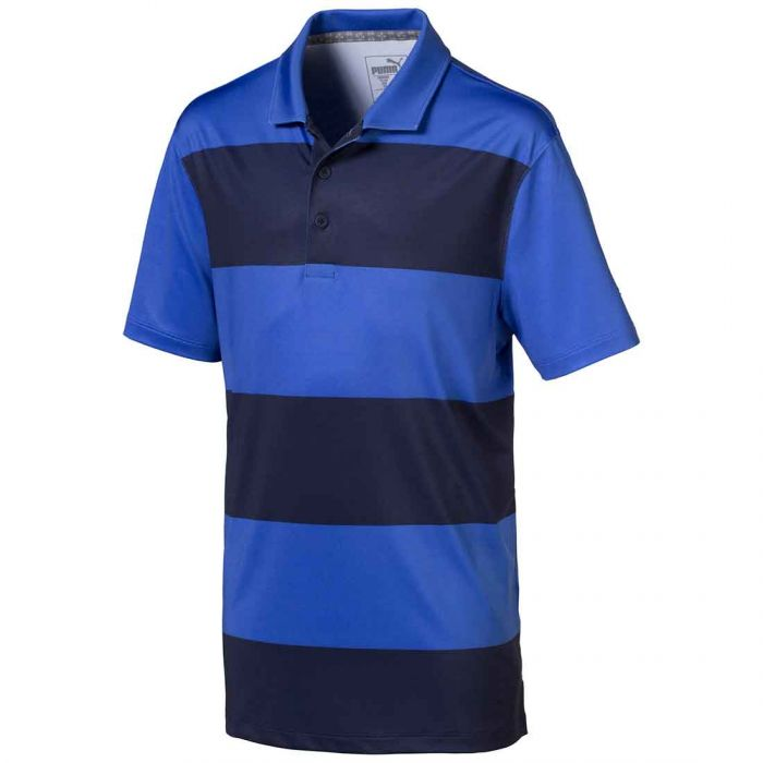 Puma Boys Rugby Stripe Polo
