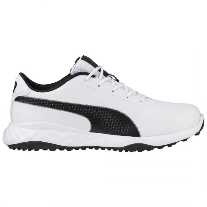 Puma Grip Fusion Classic Golf Shoes White