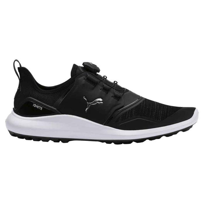 Puma Ignite NXT Disc Golf Shoes Black/Silver