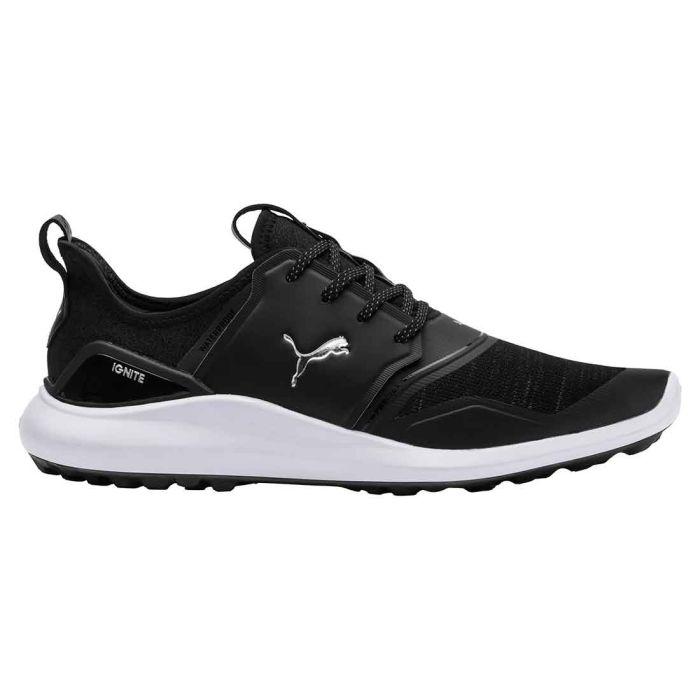 Puma Ignite NXT Lace Golf Shoes Black/Silver
