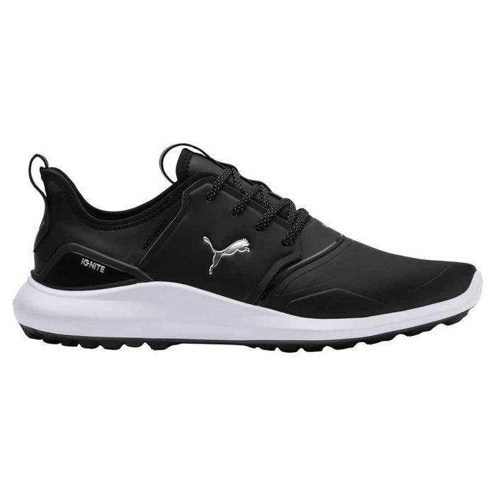 Puma Ignite NXT Pro Golf Shoes Black/White