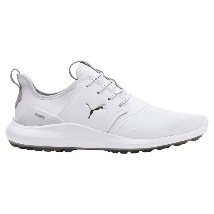 Puma Ignite NXT Pro Golf Shoes White/Silver