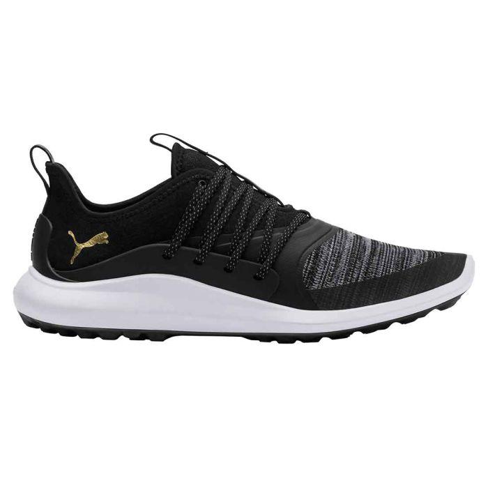 Puma Ignite NXT Solelace Golf Shoes Black/Gold