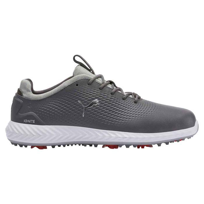 Puma Ignite PWRADAPT Leather Golf Shoes Quiet Shade