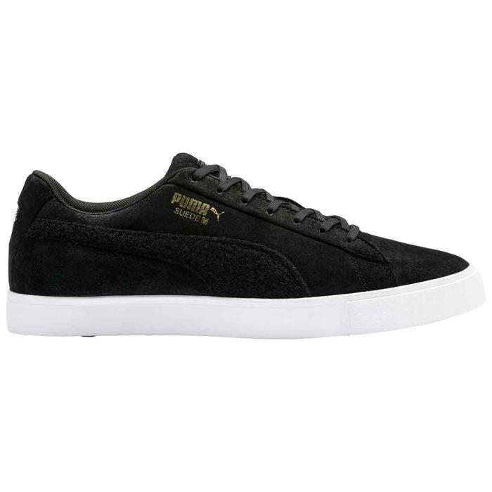 Puma Suede G Patch LE Golf Shoes Black