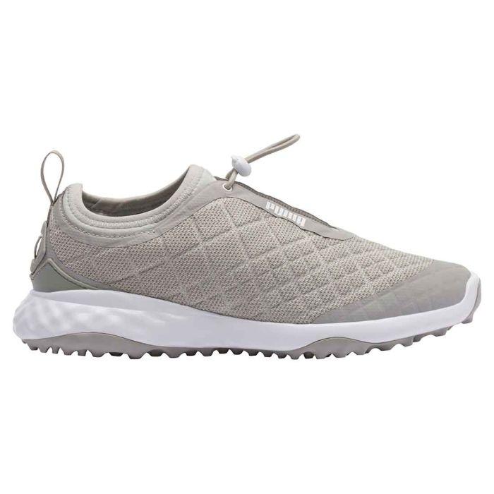 Puma Women's Brea Fusion Sport Golf Shoes Grey Violet/White