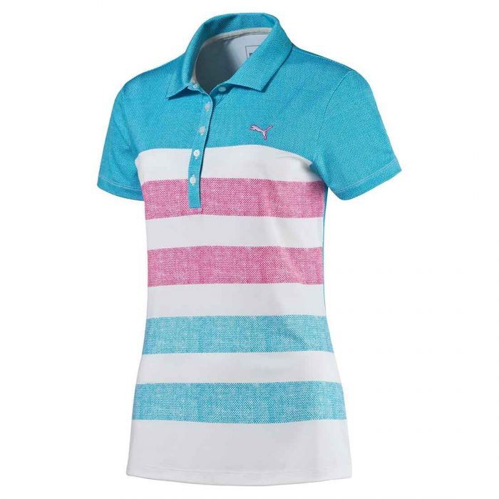 Puma Women's Roap Map Textured Polo