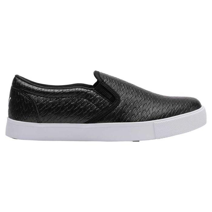 Puma Women's Tustin Slip-On Golf Shoes Black/White