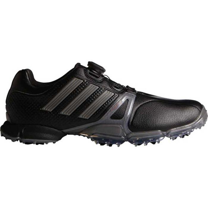 Adidas Powerband Tour Boa Golf Shoes Black/Silver