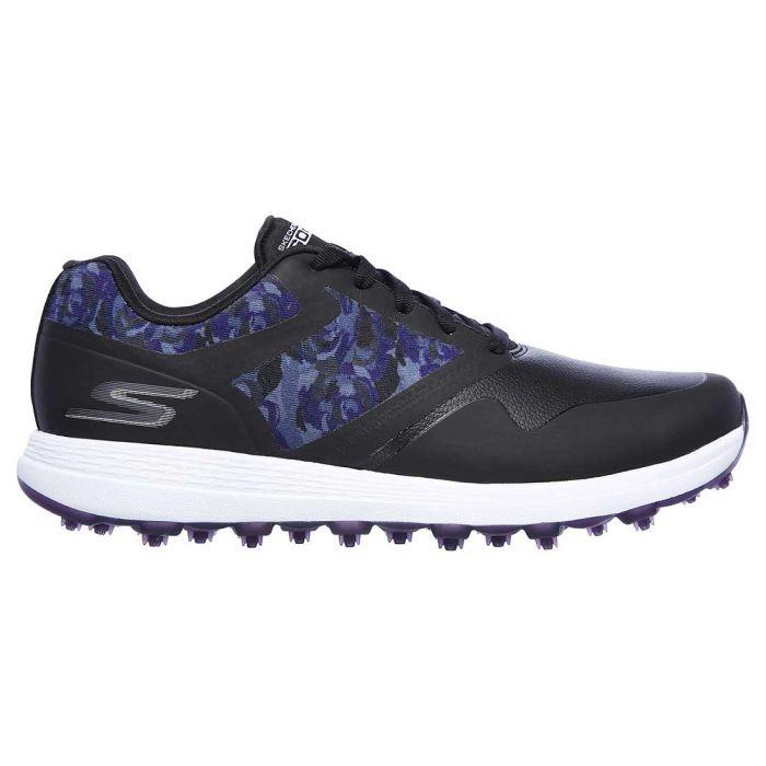Skechers Women's GO GOLF Max Draw Golf Shoes Black/Purple