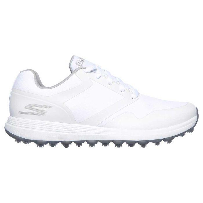Skechers Women's GO GOLF Max Fade Golf Shoes White/Grey