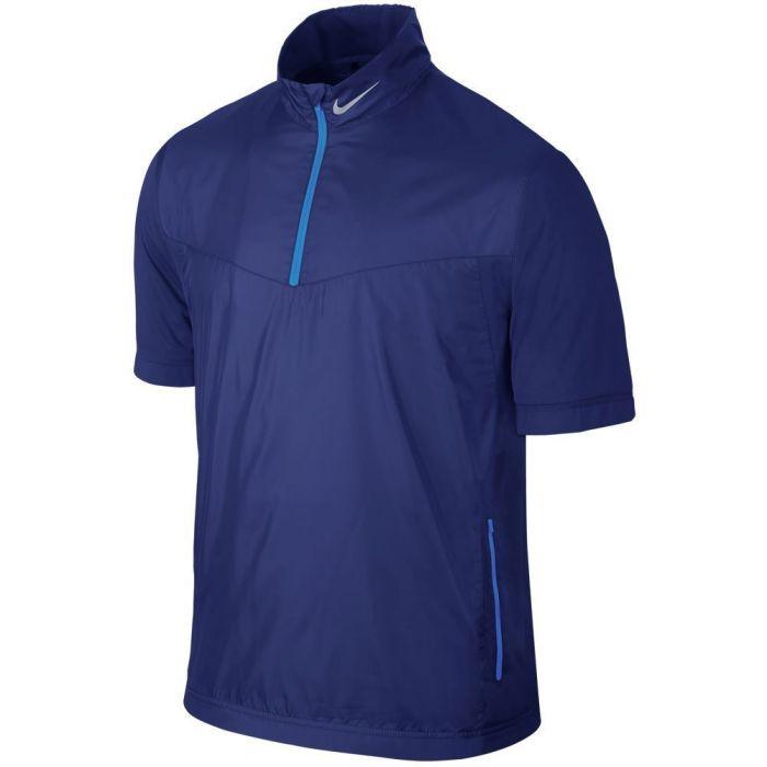 Nike Shield Short Sleeve 1/2-Zip Top