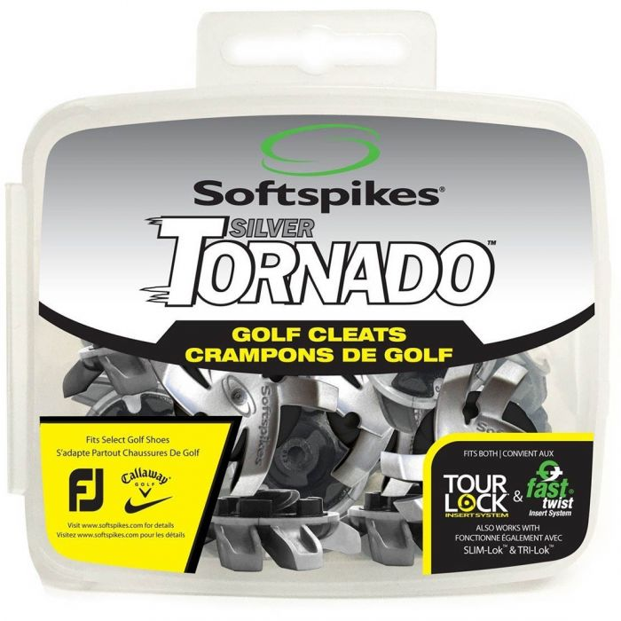 Softspikes Silver Tornado Golf Spikes