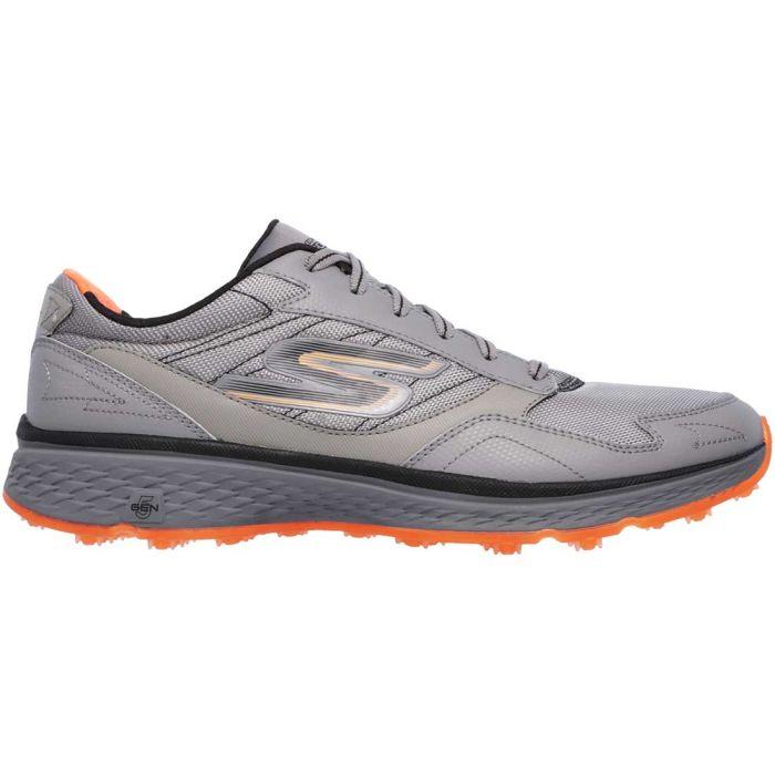 Skechers GO GOLF Fairway Golf Shoes Grey/Orange