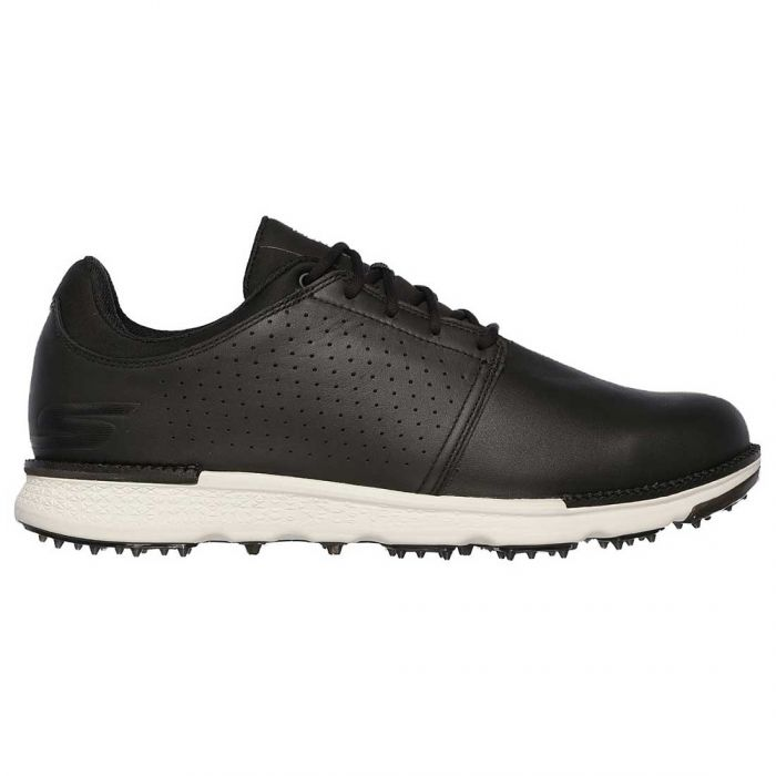 Skechers GO GOLF Elite V.3 Approach LT-RF Golf Shoes Black/White