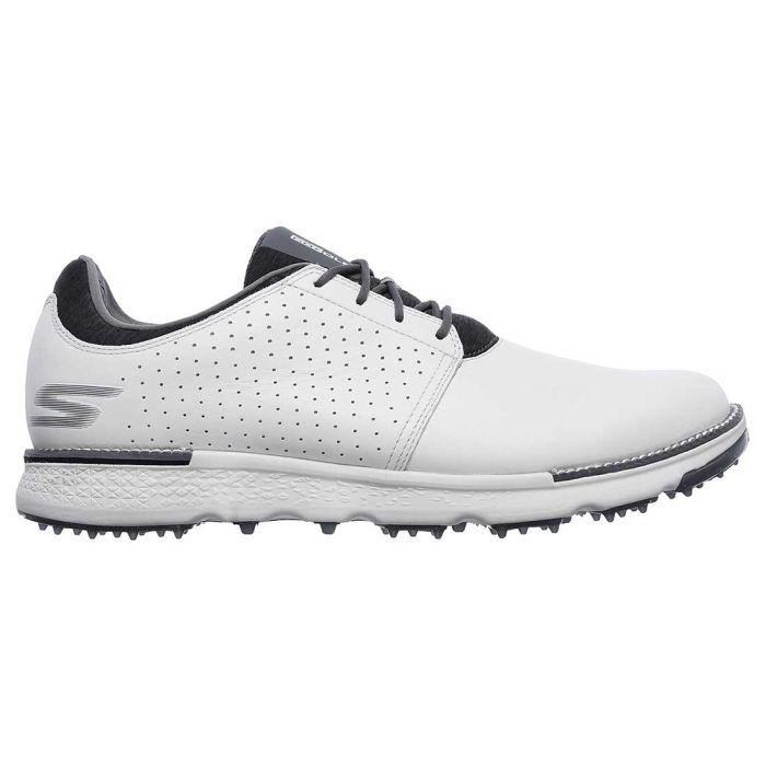 Skechers GO GOLF Elite V.3 Approach LT-RF Golf Shoes Natural/Grey