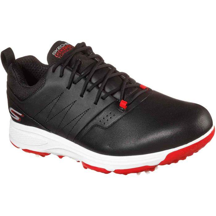 Skechers GO GOLF Torque - Pro Golf Shoes Black/Red