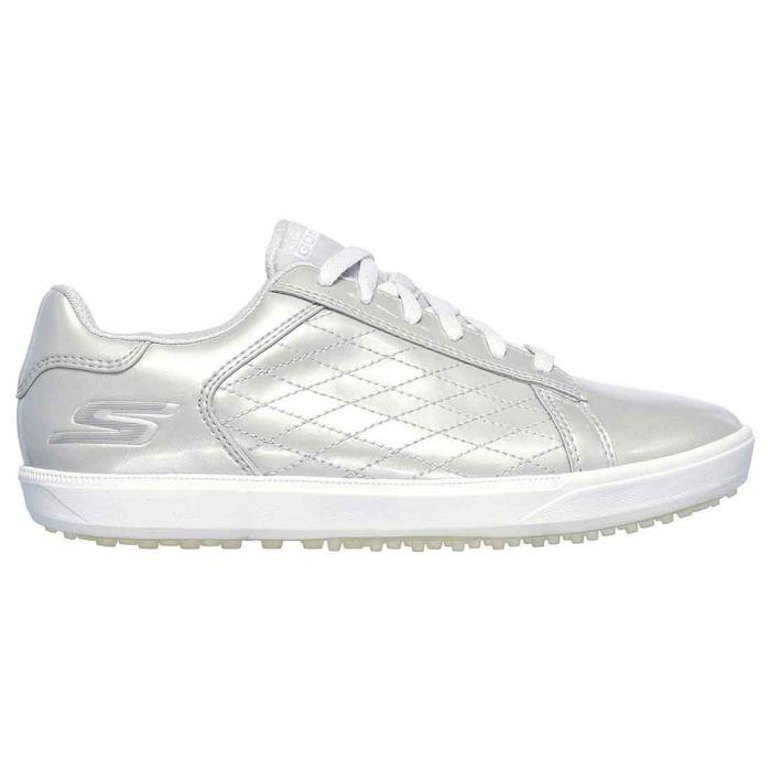 Skechers Women's GO GOLF Drive Shine Golf Shoes Silver