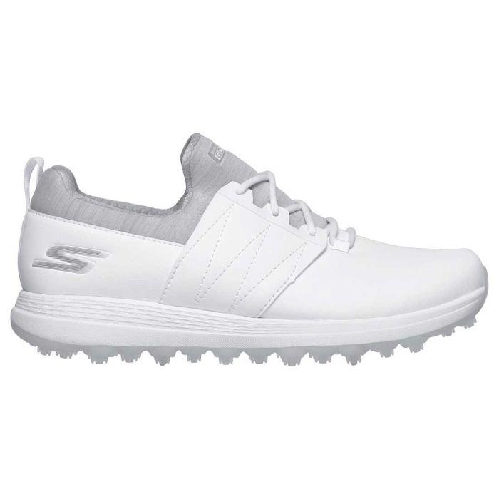 Skechers Women's GO GOLF Max Honey Golf Shoes White/Grey
