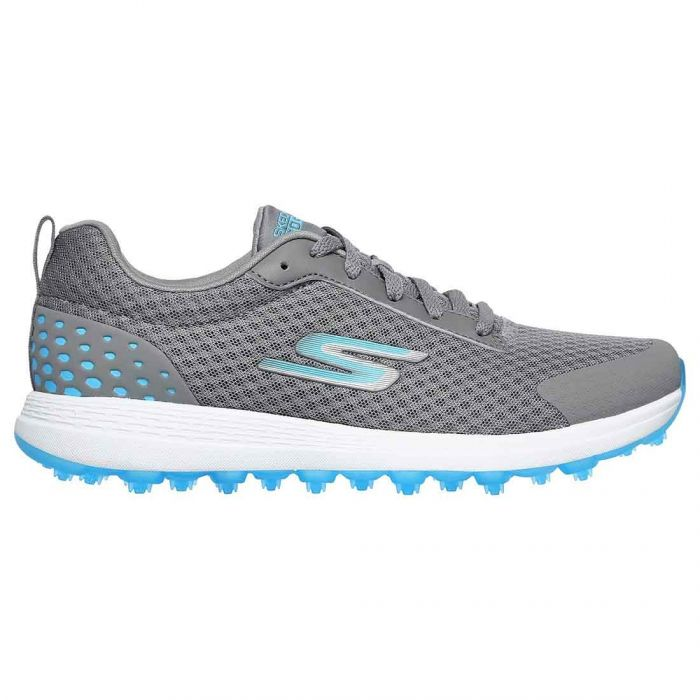 Skechers Women's GO GOLF Max Fairway 2 Golf Shoes Grey/Blue