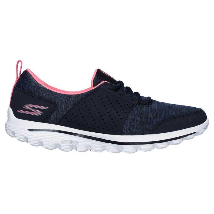 Skechers Women's GOwalk 2 Sugar Golf Shoes Navy/Pink