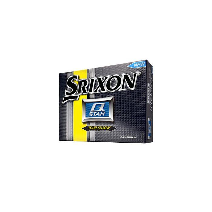 Srixon Prior Generation Q-Star Yellow Golf Balls