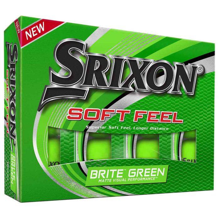 Srixon Soft Feel 12 Brite Green Golf Balls