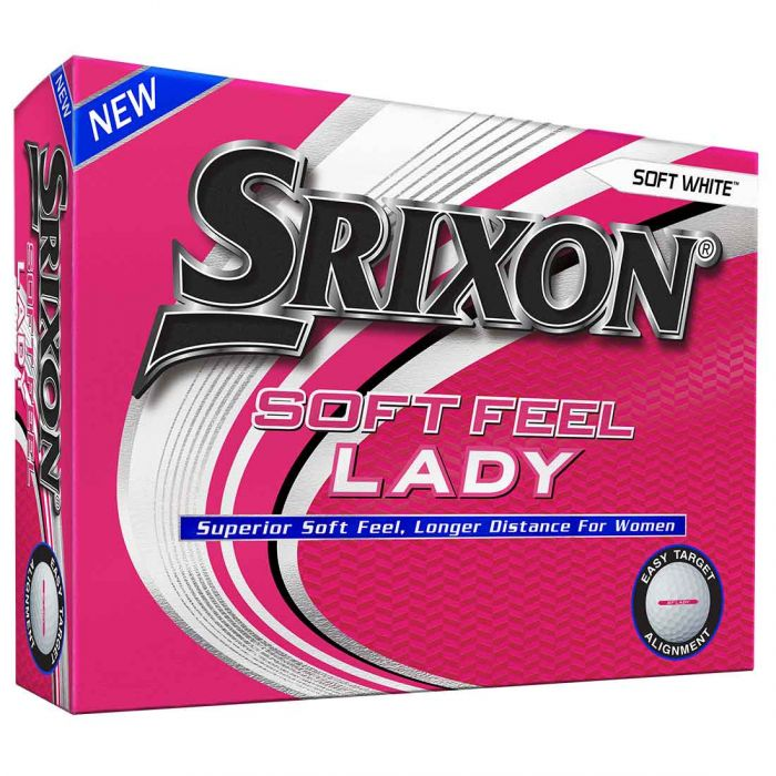 Srixon Women's Soft Feel Lady 7 White Golf Balls