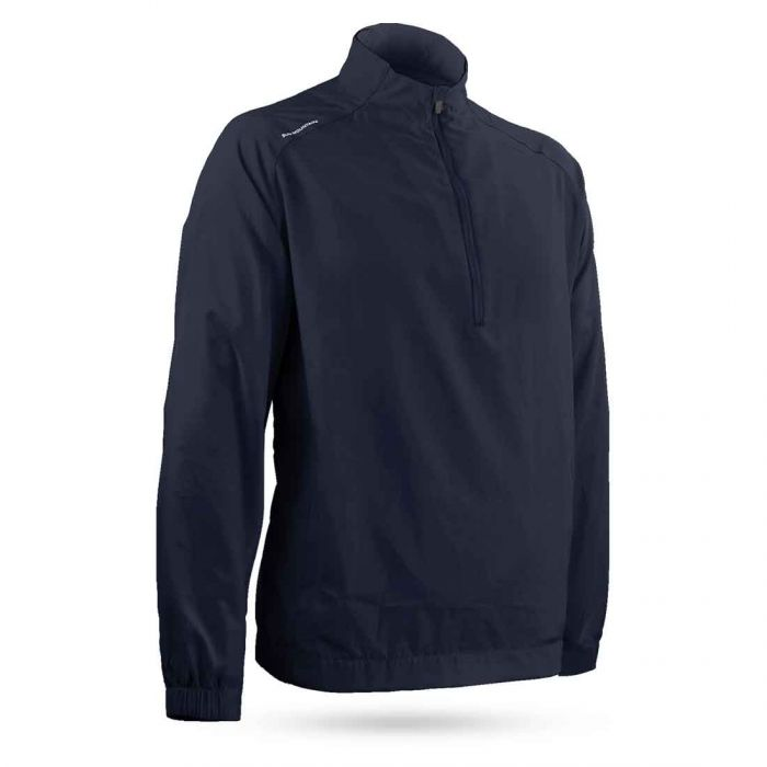 Sun Mountain Brushed Solo Wind Pullover