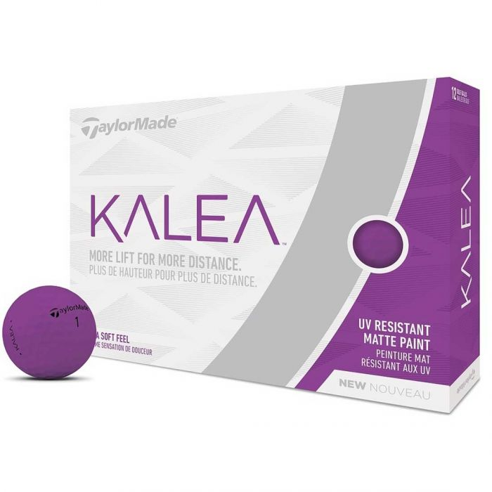 TaylorMade Women's Kalea Purple Golf Balls
