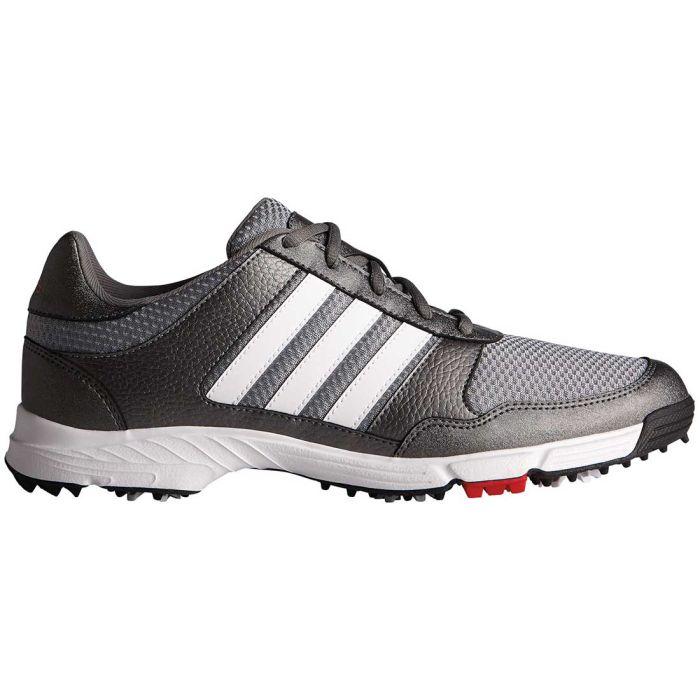 Adidas Tech Response Golf Shoes Iron/White/Black