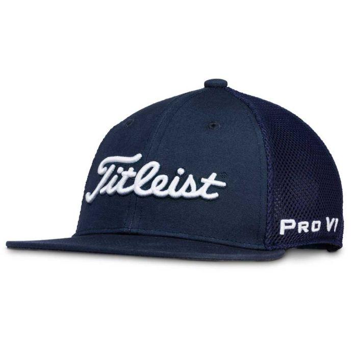 Titleist Junior's Tour Flat Bill Mesh Hat