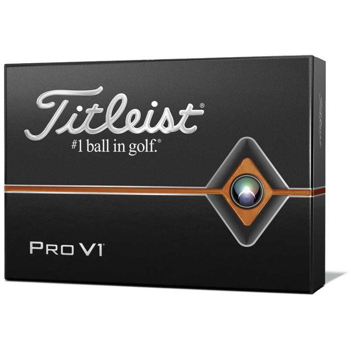 Titleist Pro V1 Personalized Custom Number Golf Balls
