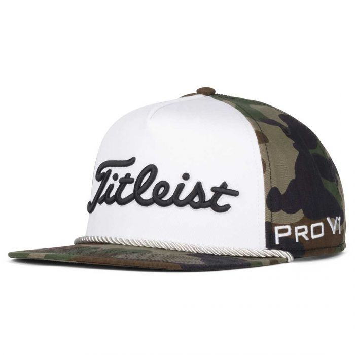 Titleist Camo Tour Rope Flat Bill Hat