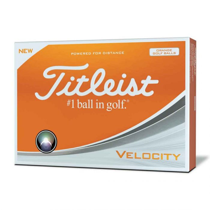 Titleist Prior Generation Velocity Orange Golf Balls