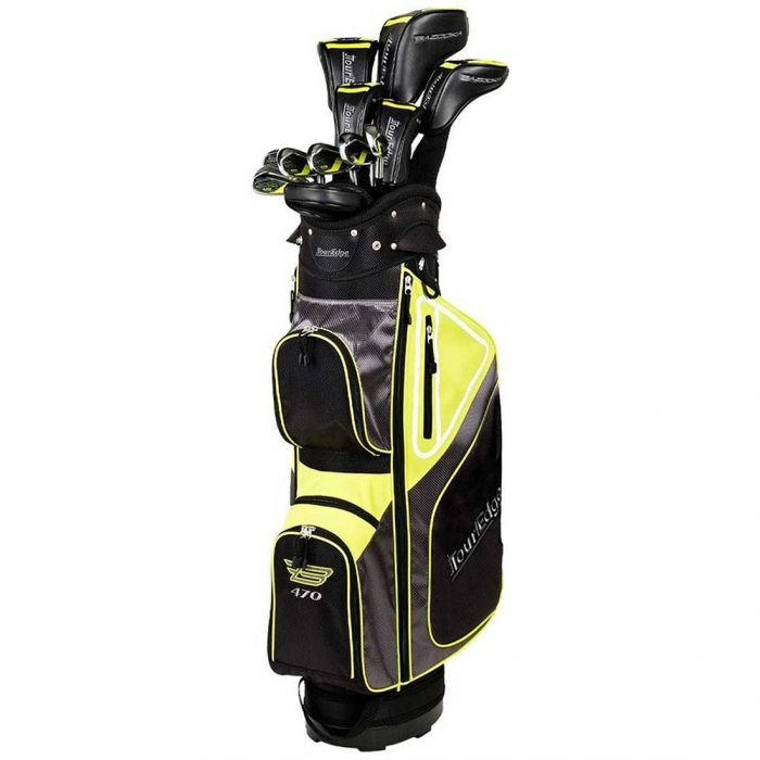 Tour Edge Bazooka 470 Black Complete Set w/ Cart Bag