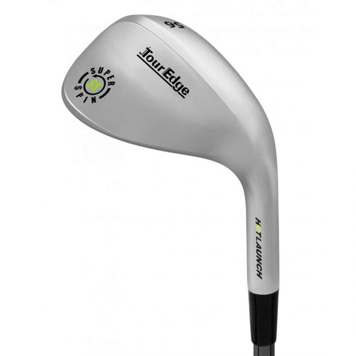 Tour Edge Hot Launch 3 Super Spin Silver Wedge