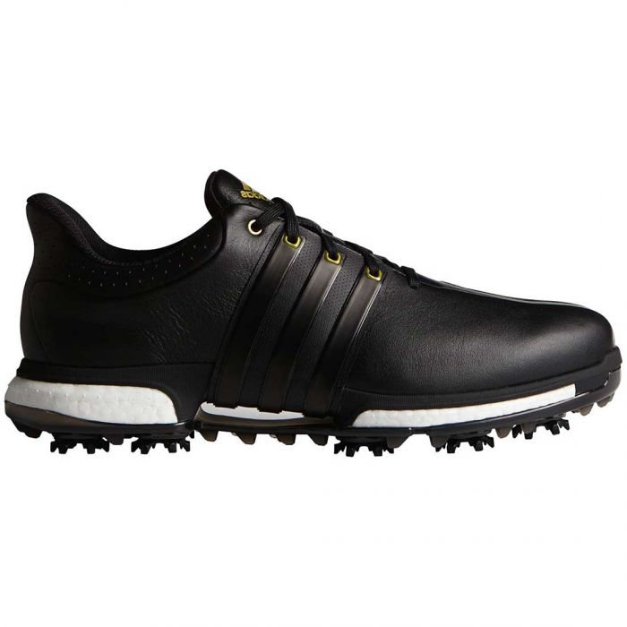 Adidas Tour360 Boost Golf Shoes Black/Gold