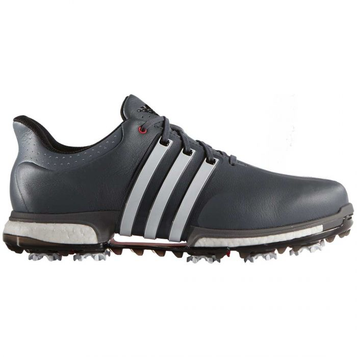 Adidas Tour360 Boost Golf Shoes Onix/White/Red