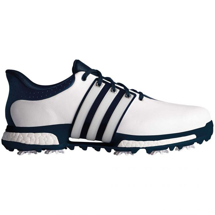 Adidas Tour360 Boost Golf Shoes White/Slate/Silver