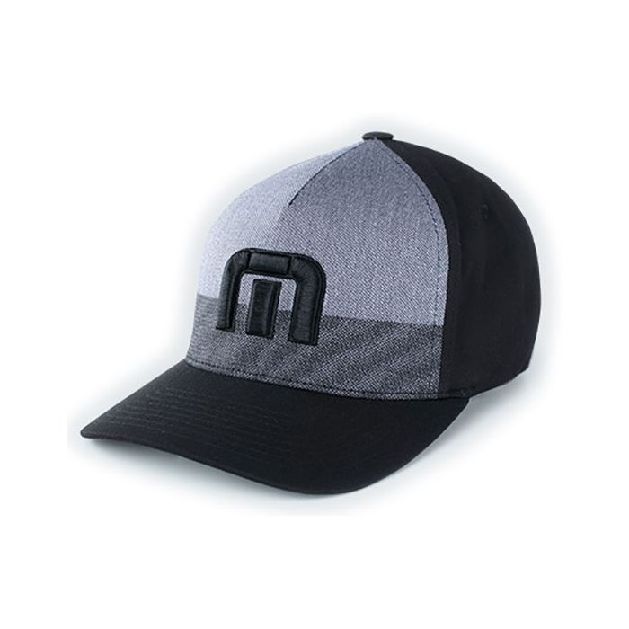 TravisMathew Blocked Fitted Hat
