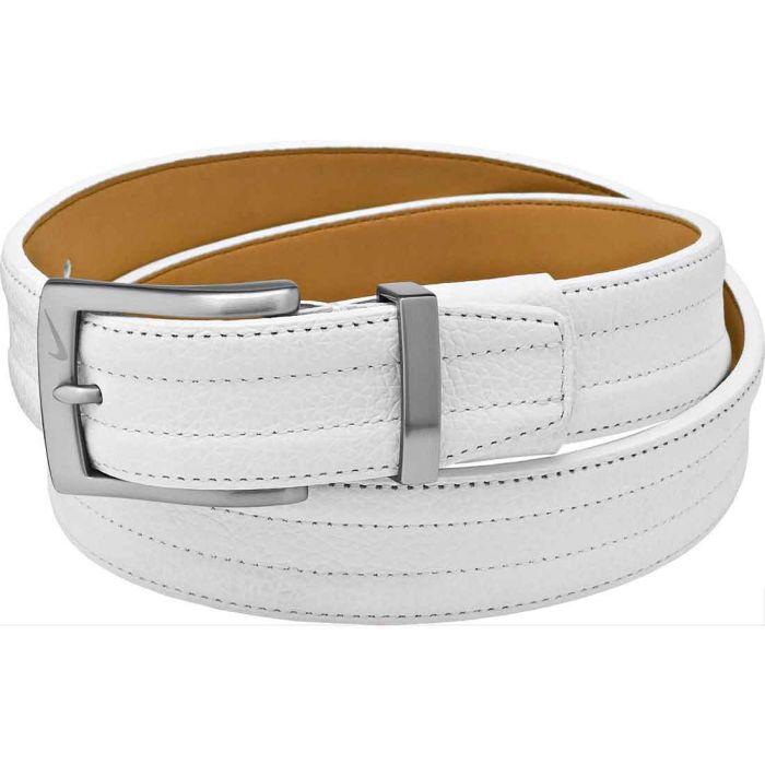 Nike Trapunto G-Flex Leather Golf Belt