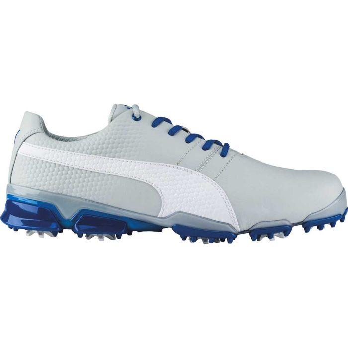 Puma TitanTour Ignite Golf Shoes Grey Violet/White/True Blue