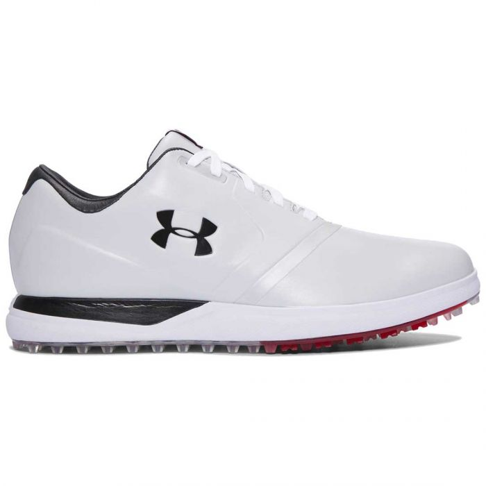 Under Armour Performance Spikeless Golf Shoes White/Black