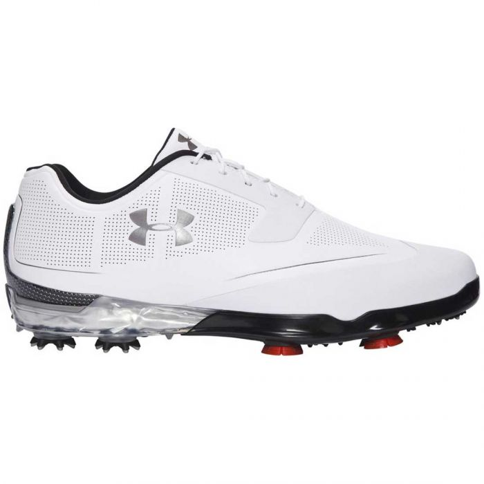 Under Armour Tour Tips Golf Shoes White/Silver