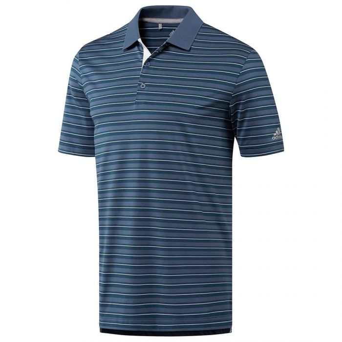 Adidas Ultimate365 3-Color Merch Stripe Polo