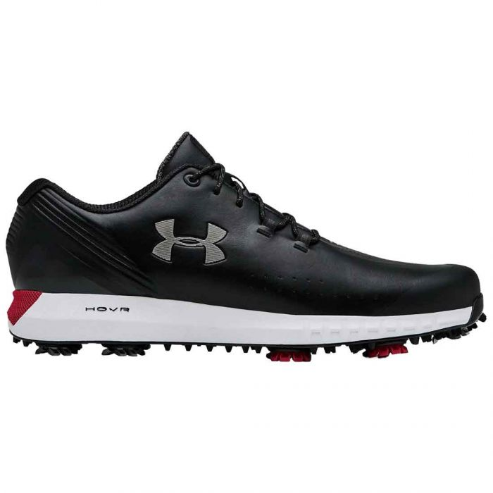 Under Armour HOVR Drive Golf Shoes Black/Metallic Silver